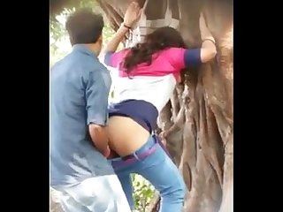 Tamil sex videos of young couple fucking outdoor