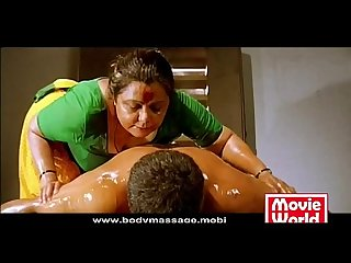 Madurai Aunty oil Massage