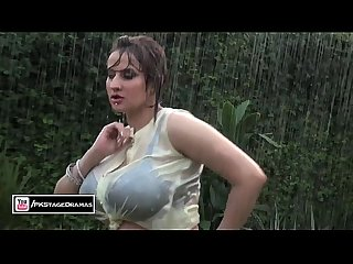 Paki Plump Busty Actress AFREEN KHAN wet hot boobs shaking Mujra Dance